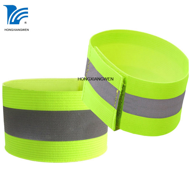 Elastic Knitted reflective band