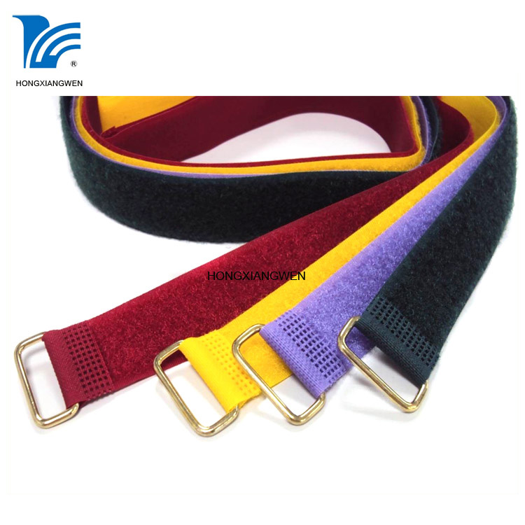 Straps with metal buckle