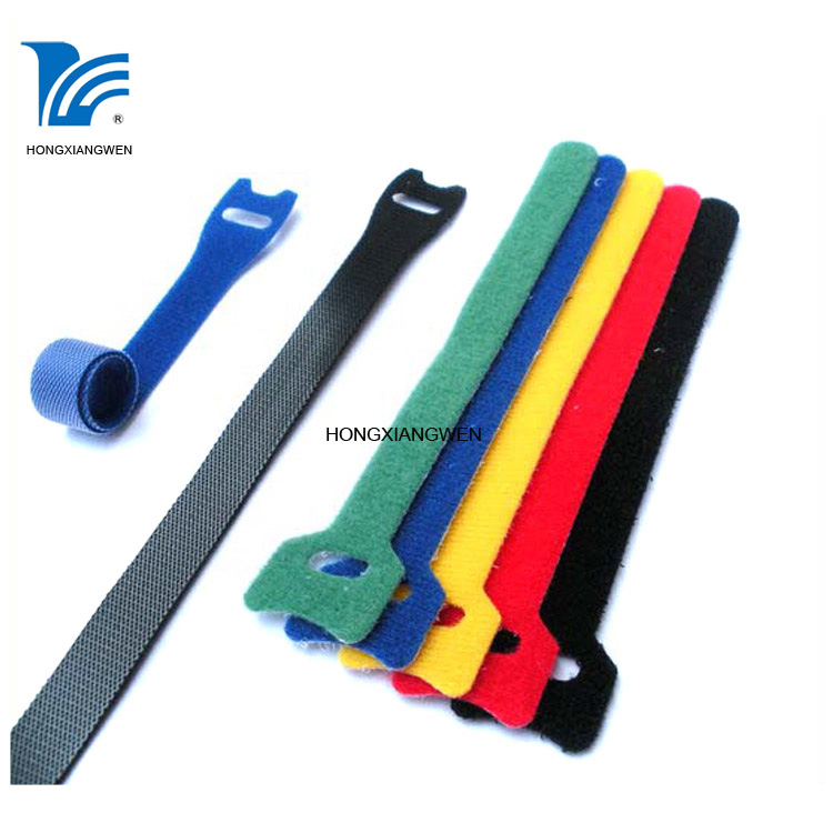 Hook and loop cable straps