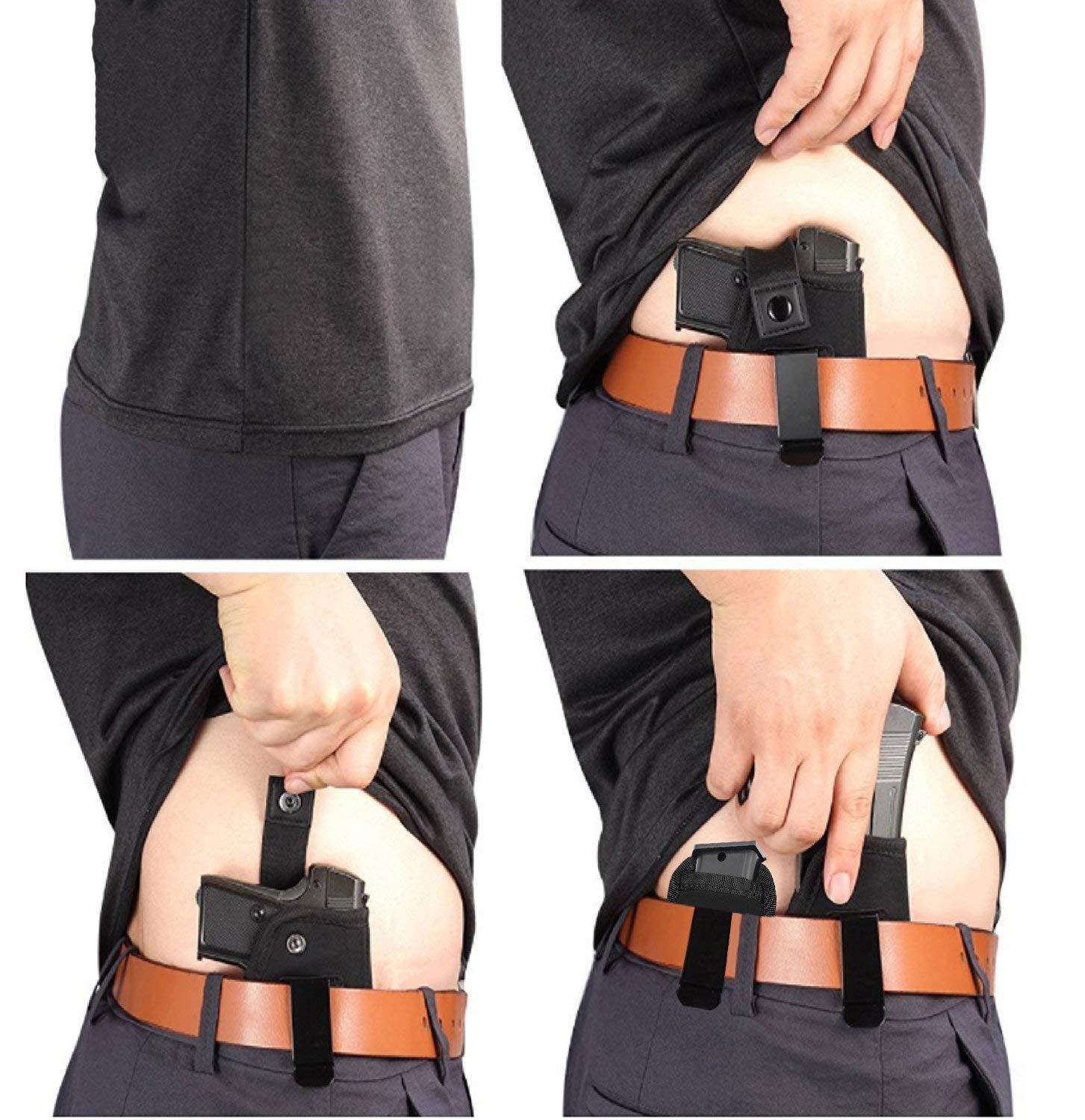 Gun Holster for Concealed Carry Pouch