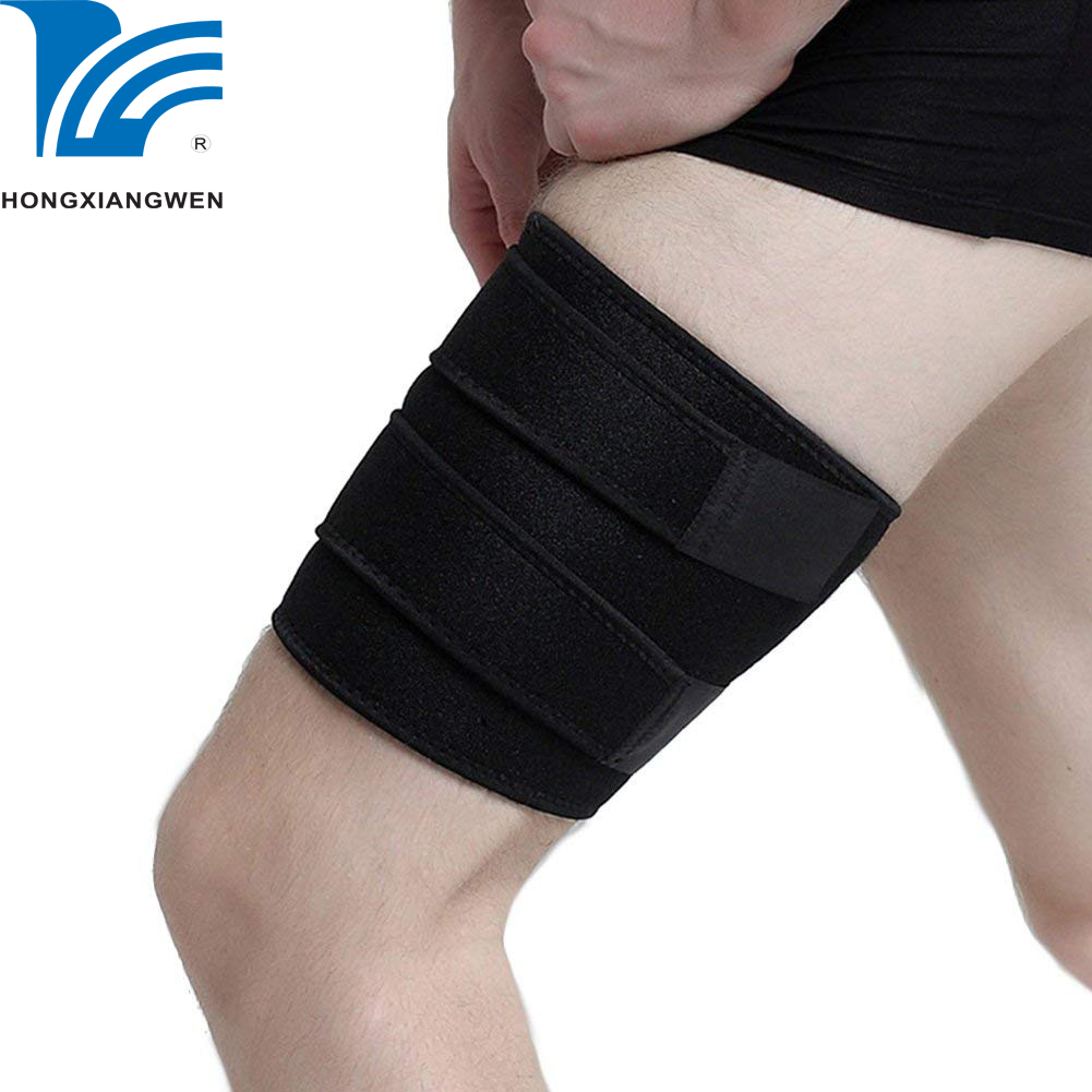 Adjustable neoprene leg sleeve