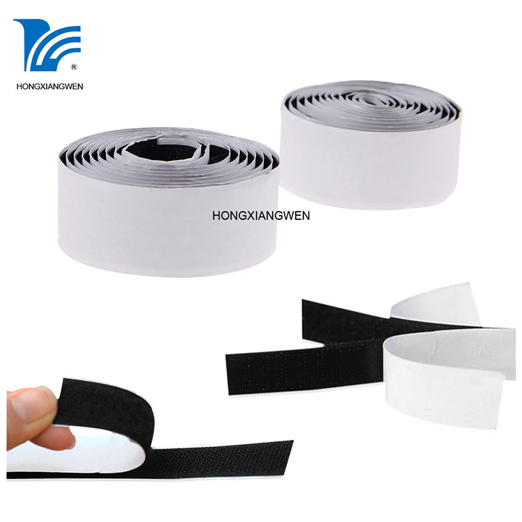 adhesive hook and loop tape