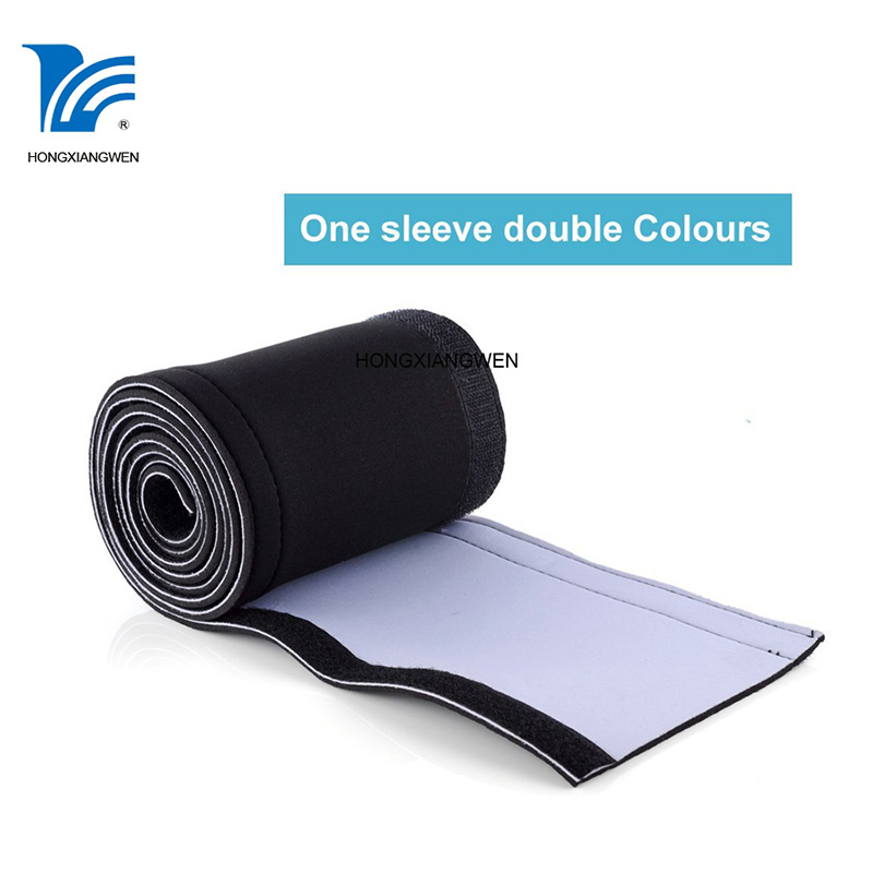Durable Household,Office and Entertainment Wire Protection and Management Neoprene Flexible Cable Wire Sleeve
