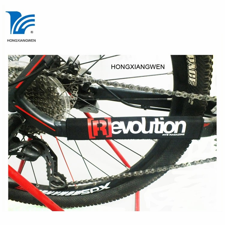 Neoprene mountain bike bicycle chain stay protector guard cover