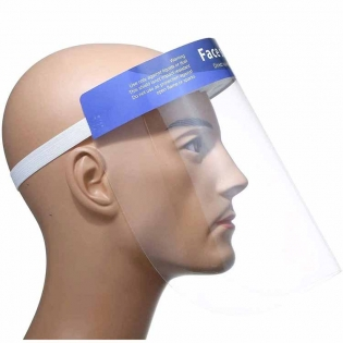 Plastic Safety Reusable Transparent Protective Face shield