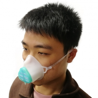 Reusable Anti Virus Fog Silicone Gas Mask Cushion Respirator