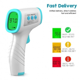 Digital Thermometer Gun Baby and Adult Non Contact Thermometer Infrared Forehead