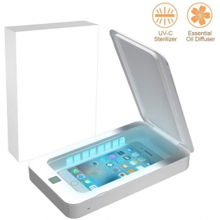 Multifunctional Phone Cleaner Box Cleaning Device UV Sanitizing Box