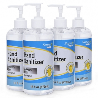 In Stock Personal Care Alcohol Based Hand Sanitizer