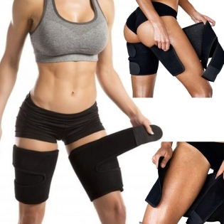 Women Sports Gym Sauna Corset Thigh Trimmer Belt