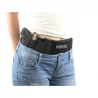 Universal Tactical Neoprene Belly Band Holster Concealed Carry Belt