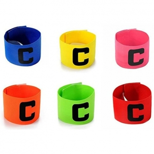 Flexible Sports Captain Armbands for Kids and Youth