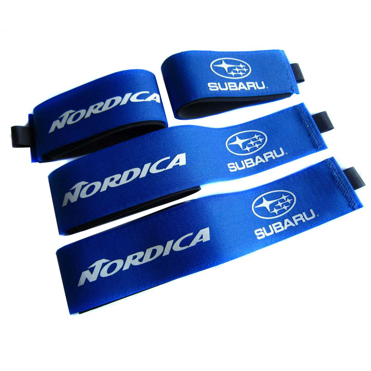 Wholesale Custom Logo Ski Binding Strap Alpine Hook Loop Ski Strap