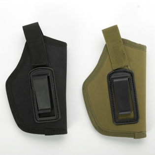 Universal Pistol Tactical Waist Belt Cilp Canvas Iwb Gun Holster