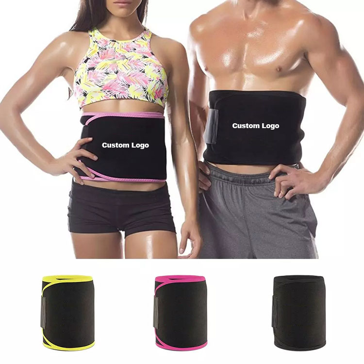 Comfortable Neoprene Sweat Fitness Weight Loss Waist Trimmer Belt